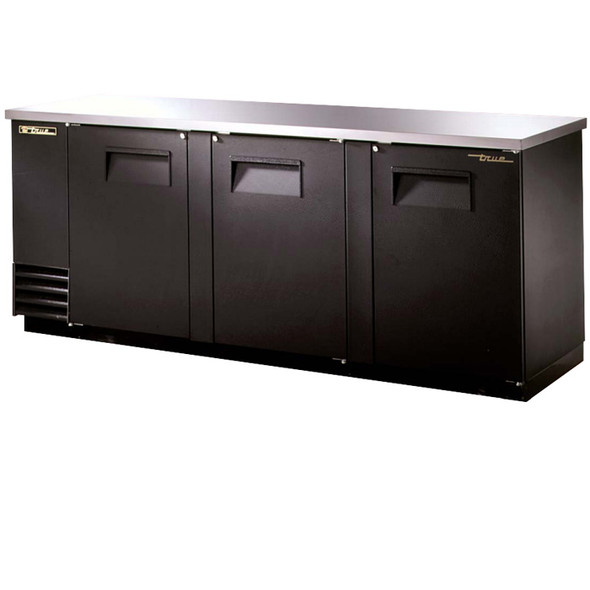 "TBB-4 True 91"" Solid Door Back Bar Cooler"