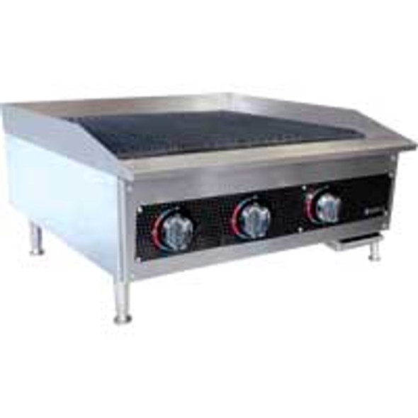 "OPEN BOX - NEW | Anvil Radiant Gas Char-Broiler, 36"" Wide - CBR9036"