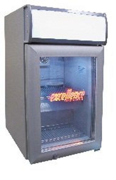 Excellence SC-80 - Countertop Display Cooler with Light, 2.7 cu.ft. capacity