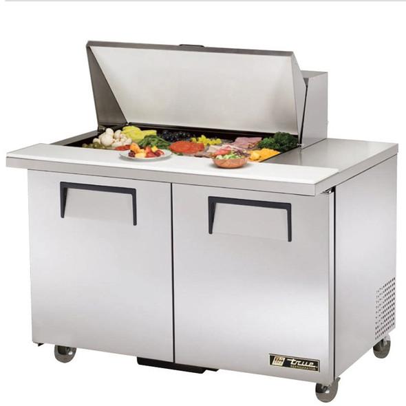 """TSSU-48-15M-B-ADA True 48"""" 15 Bin Sandwich/Salad Prep Table"""