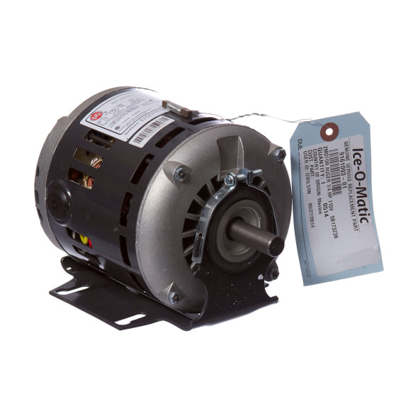 Image of the Ice-O-Matic 9161093-01 Auger Motor with tag