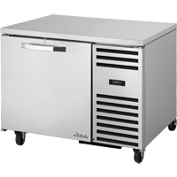 True TUC-44F-HC~SPEC3 44 Inch Solid Door Undercounter Freezer with Hydrocarbon Refrigerant