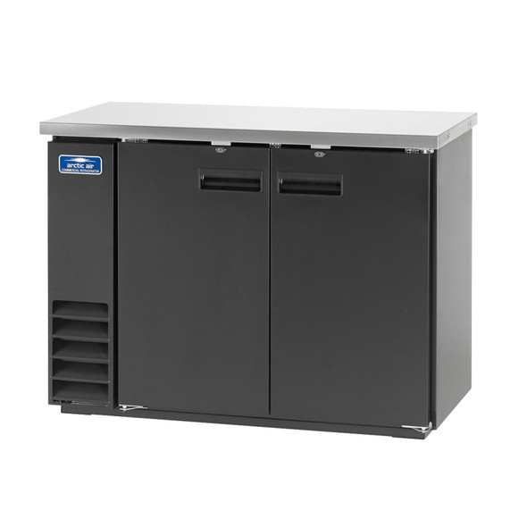 "Arctic Air ABB48 49"" Back Bar Refrigerator - Solid Doors"
