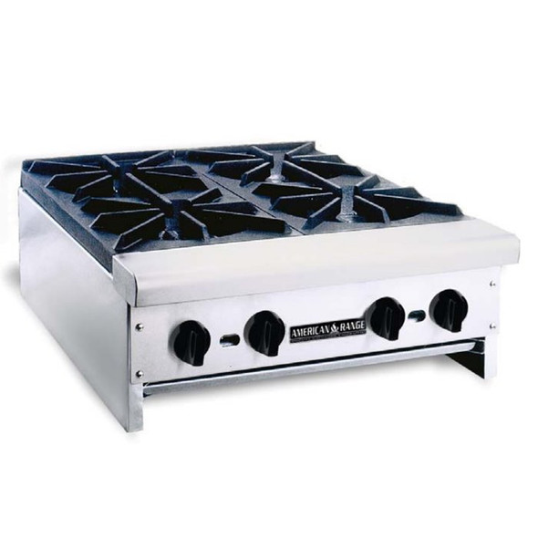 American Range Heavy Duty Hot Plate - 6 Burners - ARHP-36-6