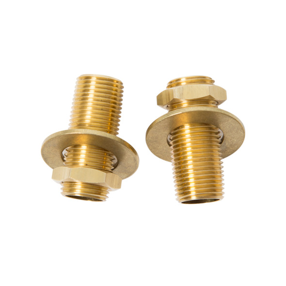 "T & S Brass B-0425-M Supply Nipple Kit, 1/2"" x 2"""
