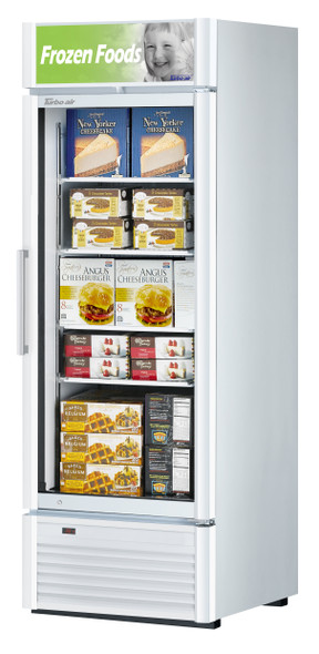 Turbo Air TGF-23SDW-N 17.99 cu. ft. Glass Door Merchandising Freezer