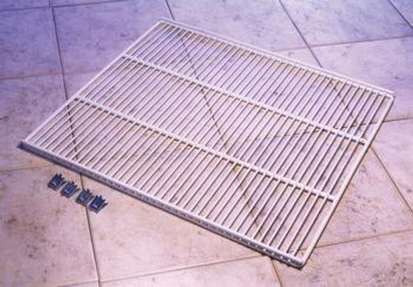 True 908806 (replaces 874092) Coated Wire Shelf with 4 Shelf Clips