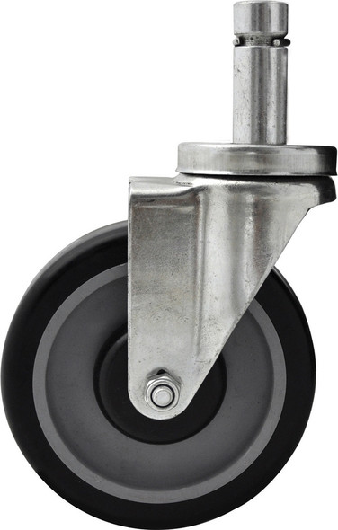 BK Resources 5SBR-1ST-PLY - 5 in. Pop-In Shelving Casters