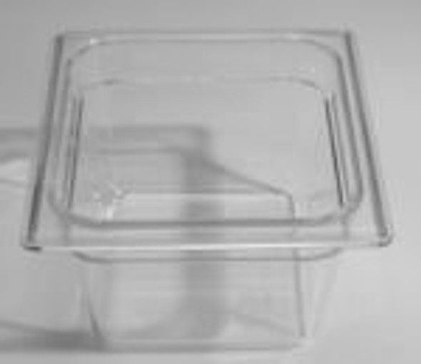 Angled view of the True 810292 food pan