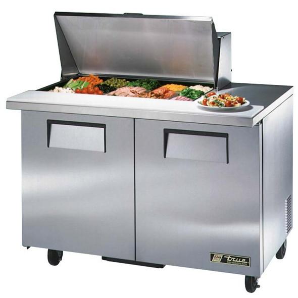 """TSSU-48-15M-B True 48"""" 15 Bin Sandwich/Salad Prep Table"""