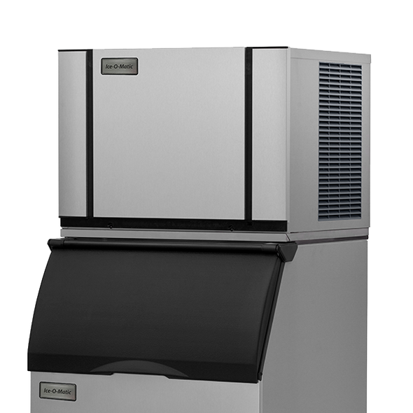 Ice-O-Matic Elevation Series CIM0530HW 530 lbs./day Modular Cube Ice Maker - Water Cooled with bin