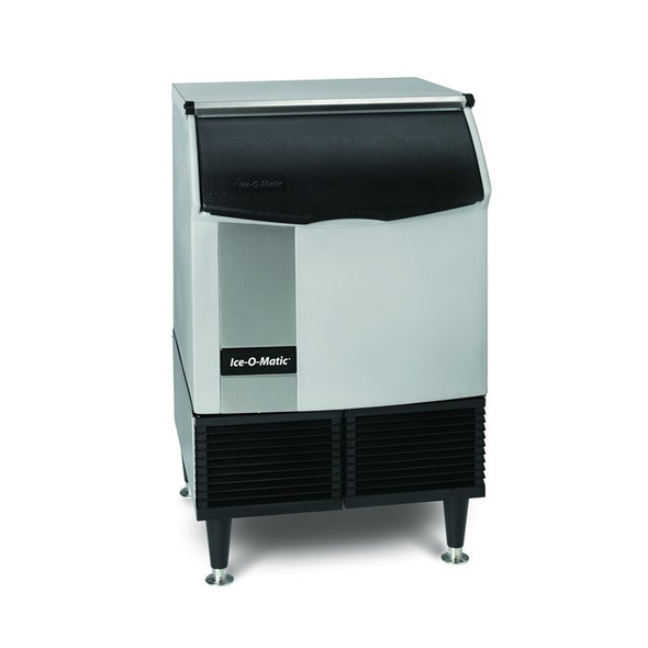 180 lbs/day Cube Ice Maker w/Storage Bin - Ice-O-Matic ICEU150FW