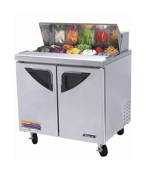 "Turbo Air TST-36SD - 36"" Super Deluxe Sandwich/Salad Prep Table"
