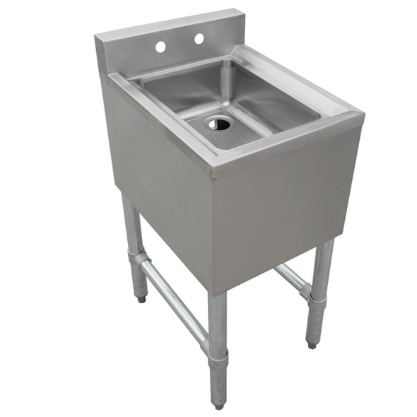 Atlantic Metalworks BAR-1CS-101410-0 - 1 Comp. Underbar Sink