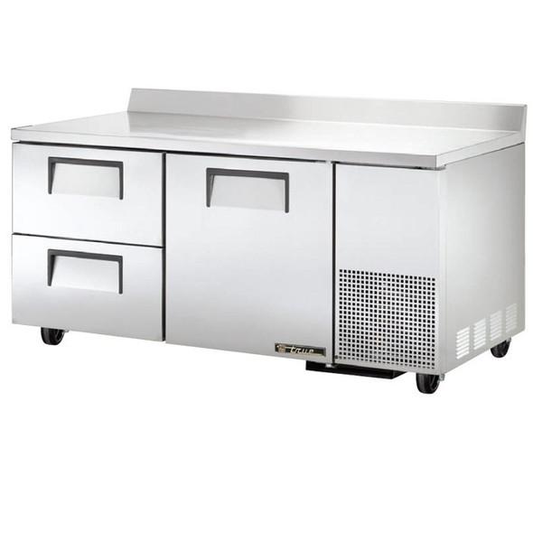 "TWT-67D-2 True 67"" Deep Worktop Refrigerator w/ 2 Drawers"