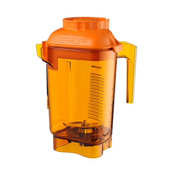 Vitamix 58984 Color Coded 32 oz. Container | Orange