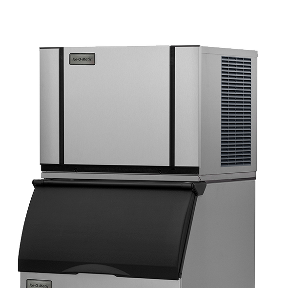 Ice-O-Matic Elevation Series CIM0436HW 500 lbs./day Modular Cube Ice Maker - Water Cooled with bin