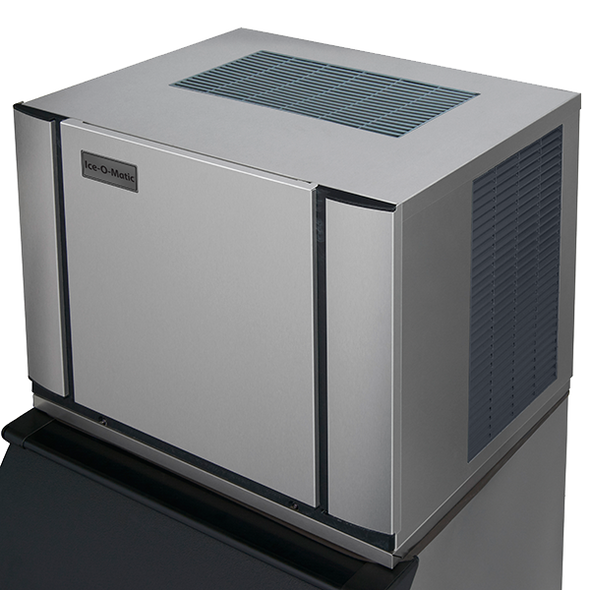 NEW LOW PRICE! | Ice-O-Matic Elevation Series CIM0436HA 465 lbs Modular Cube Ice Maker - Air Cooled