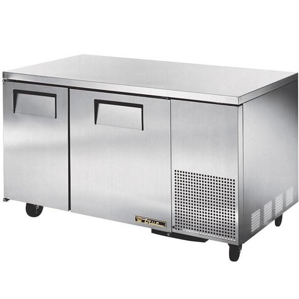 """TUC-60-32 True 60"""" 2 Door Deep Undercounter Refrigerator"""