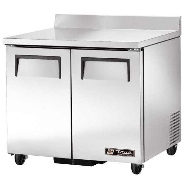 """TWT-36 True 36"""" 2 Door Worktop Refrigerator"""