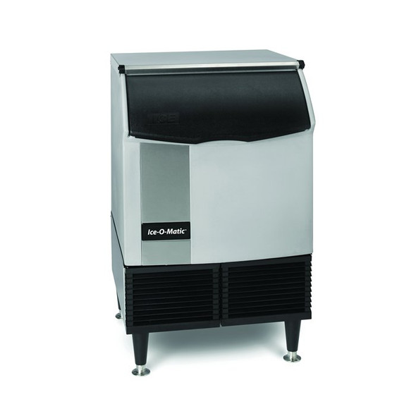 251 lbs/day Cube Ice Maker w/ Storage Bin - Ice-O-Matic ICEU220FW
