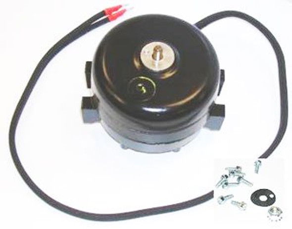 Top view of the True 800402 (Morrill SP-B9HS16) fan motor with screws