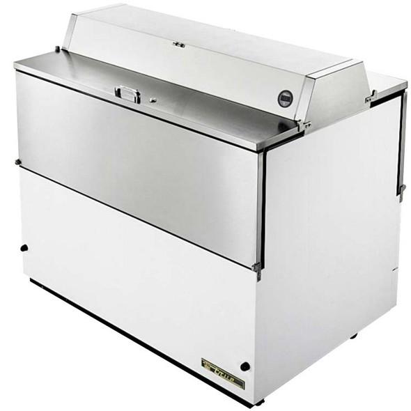 "TMC-49-DS True 49"" 20.9 Cu. Ft. Dual Sided Milk Cooler"