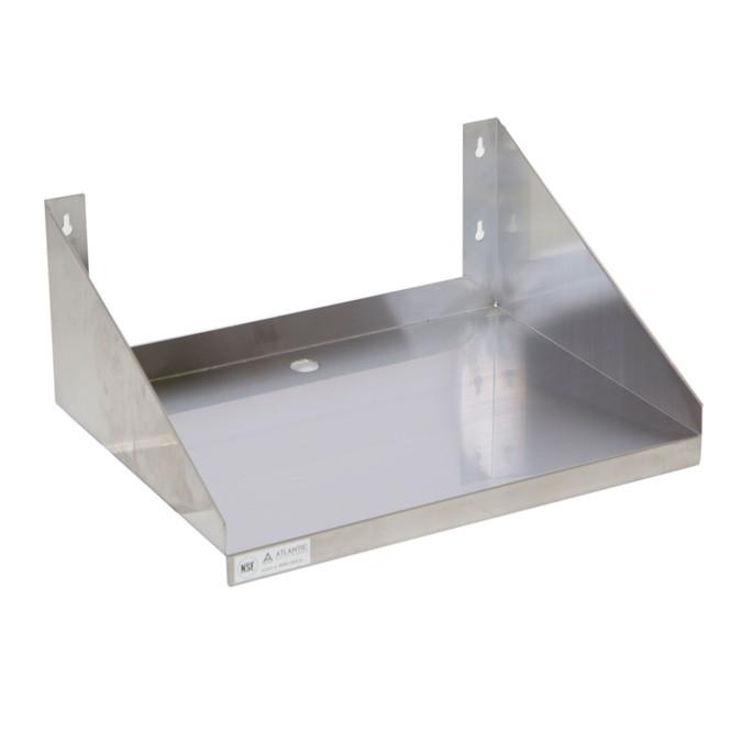 Atlantic Metalworks MWS-1824-E Economy Microwave Wall Shelf