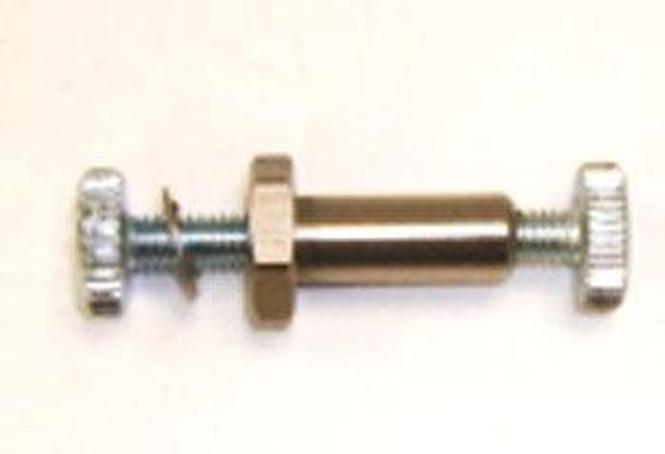 Top down view of True 913387 hinge pin kit