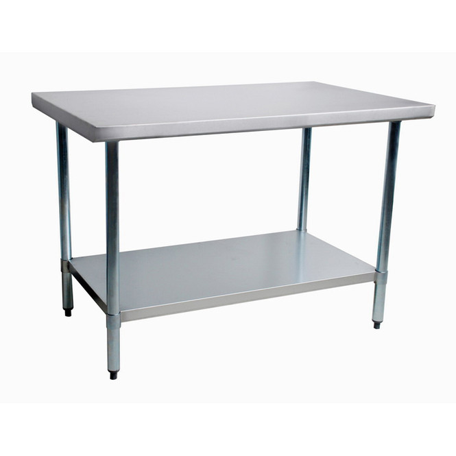 Atlantic Metalworks Stainless Steel Commercial Work Table