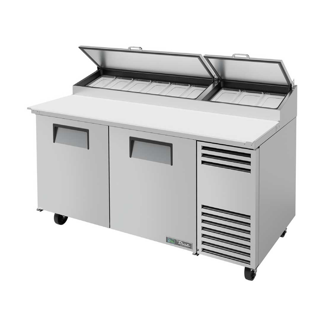 "True TPP-AT-67-HC - 67"" Pizza Prep Table"