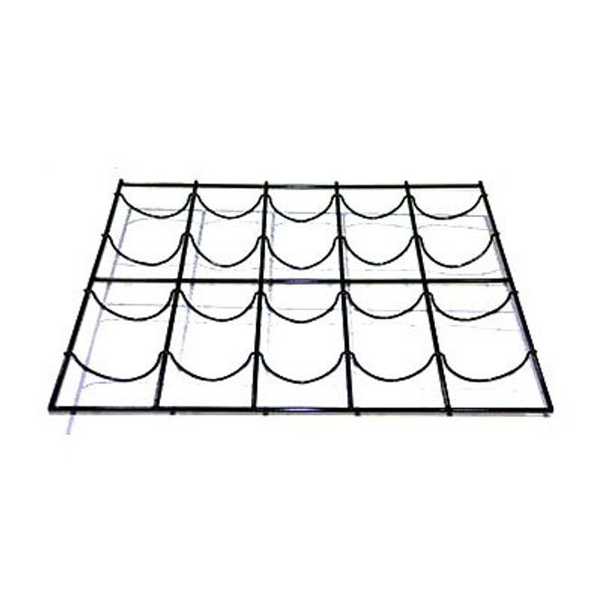 True's 909142 wine rack kit at an angle