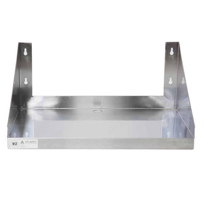 Atlantic Metalworks MWS-2424-E Economy Microwave Wall Shelf