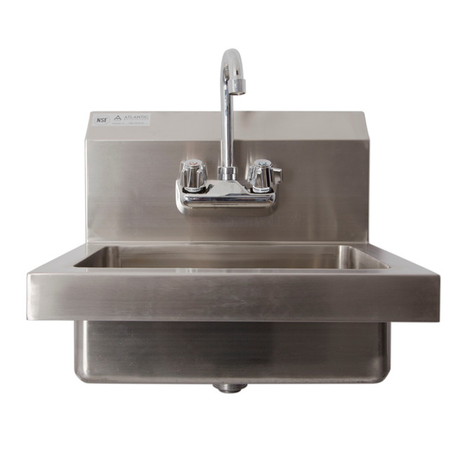 Atlantic Metalworks Basic Splash and Wall Mount Hand Sink