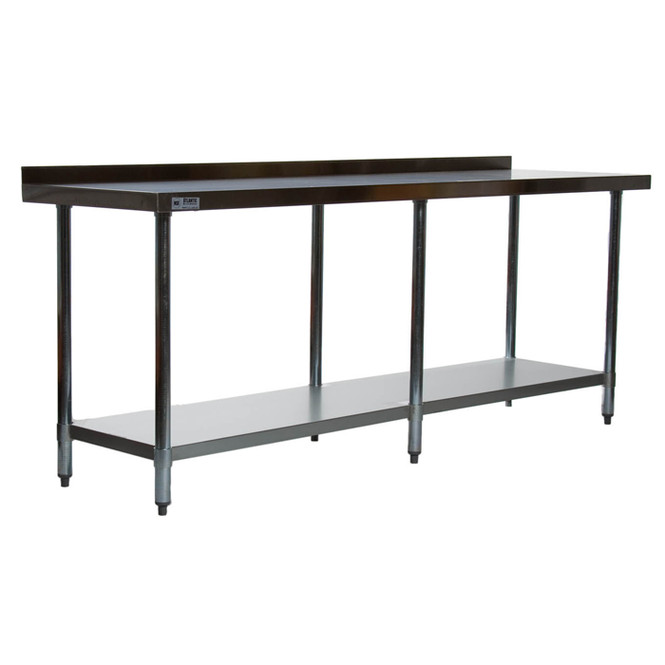 """Atlantic Metalworks Stainless Steel Commercial Work Table 84"""" x 24"""""""