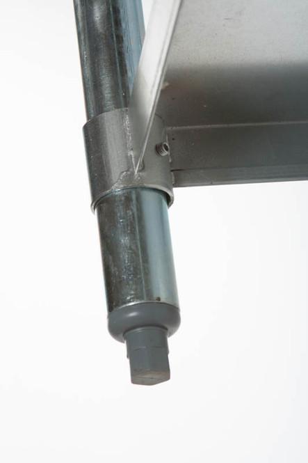 Atlantic Metalworks table bullet foot