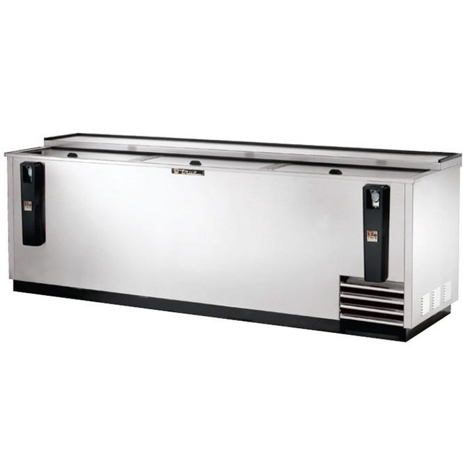 """TD-95-38-S True 95"""" Stainless Steel Deep Well Cooler"""