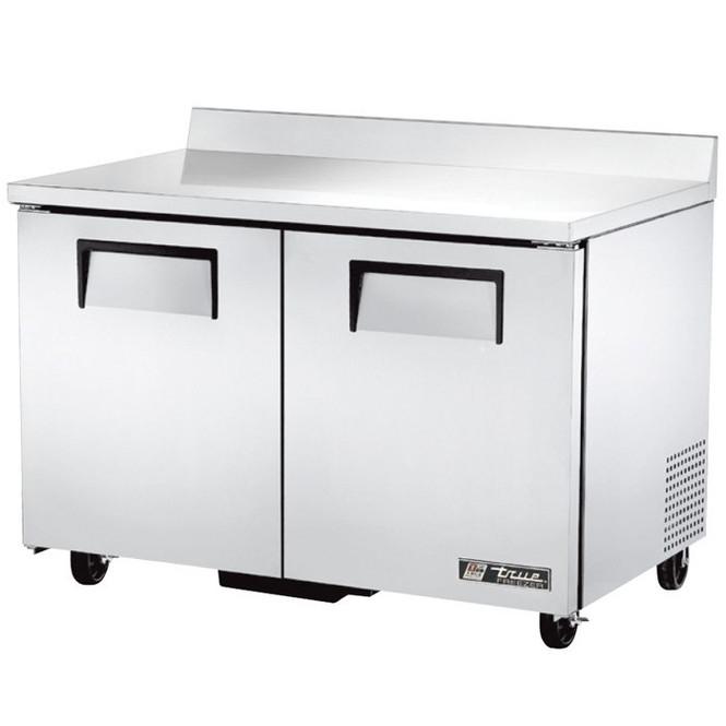 """48"""" 2 Door Worktop Freezer - True TWT-48F-HC"""