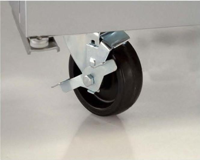 A True Manufacturing 4-inch caster