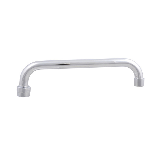 Side view of BK Resources BKF-HSPT-10-G Lead Free Swing Spout
