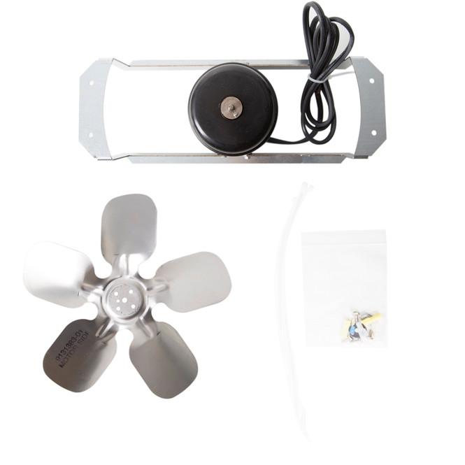 Ice-O-Matic 1051209-01 Fan Motor, Fan Blade, and Bracket Kit