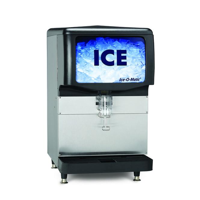 250 lbs Ice Dispenser - Ice-O-Matic IOD250