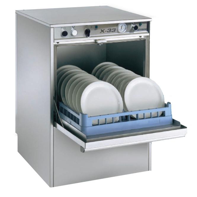Jet-Tech X-33 Low-Temp Undercounter Dishwasher Door Open