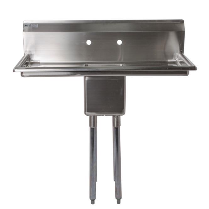 Atlantic Metalworks 10 x 14 x 10 Bowl - 1 Compartment Sink