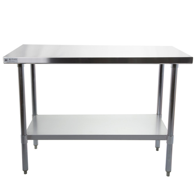 "Atlantic Metalworks STT-2430-E - 24"" x 30"" Economy Stainless Steel Work Table"