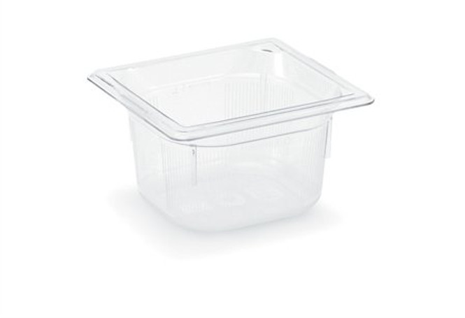 Vollrath Low Temp Clear Sixth Pan - 8064410 - Set of 6