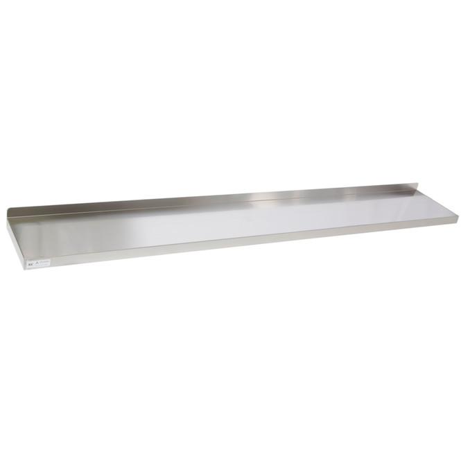 "Atlantic Metalworks WS-1696-E -16"" x 96"" Stainless Steel Wall Shelf"