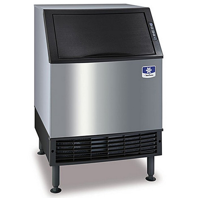 Manitowoc NEO UDF-0240W-161B - 230 lbs Dice Cube Water-Cooled Undercounter