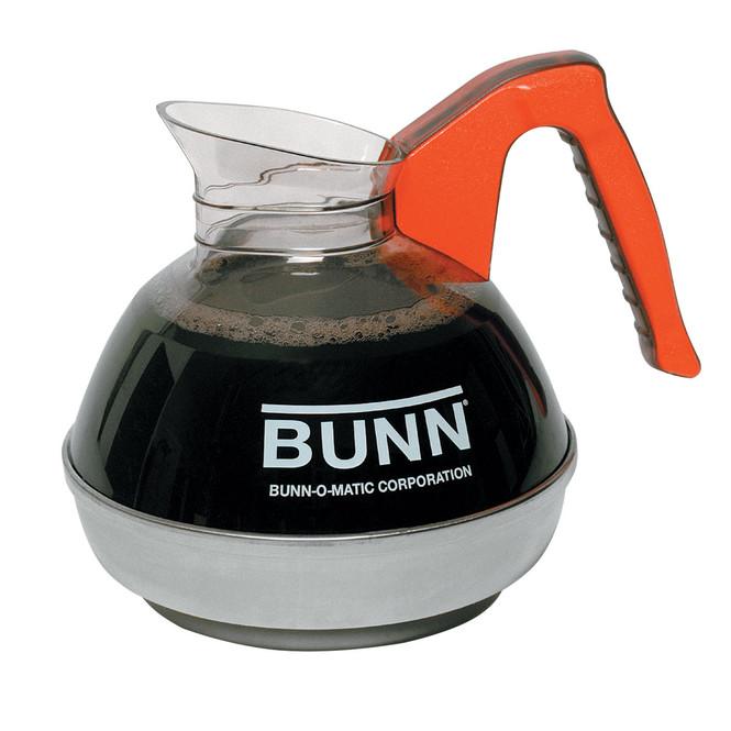 Bunn 64 oz Easy Pour Coffee Decanter Orange Handle 06101.0101