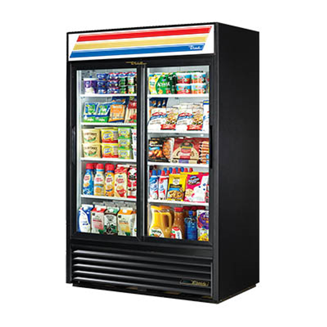 True GDM-45-HC-LD Refrigerated Sliding Glass Door Merchandiser